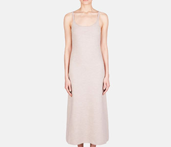 Gabriela Hearst Hepworth Knit Tank Dress