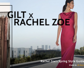Gilt Launches Spring Collaboration with Rachel Zoe
