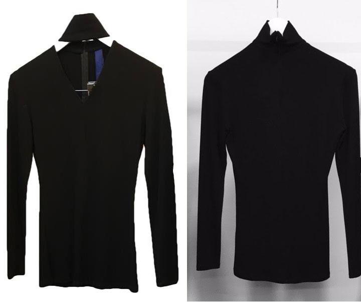 HEIKE JARICK Sample Sale V-Neck with Collar