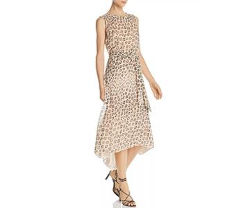 Joie Corrin Leopard-Printed Silk Dress