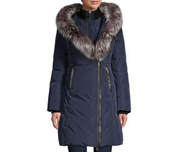 Mackage Kay Fox Fur-Trim Down Jacket $990