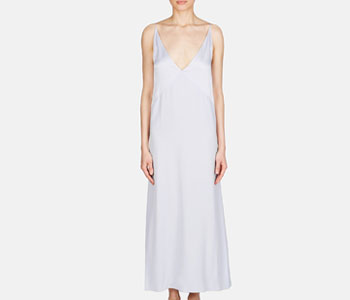 Marni Deep V Slip Dress at The Line Sample Sale