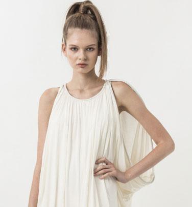 Nicholas K Offwhite Ballan Dress