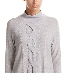 Qi Cashmere Cropped Sweater
