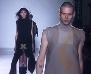 Designer Rick Owens Sends Penis' Down the Runway at Paris Fashion  Week