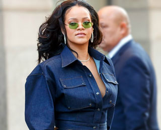 Rihanna's Fresh Off the Runway All-Denim Outfit Is Totally Enviable
