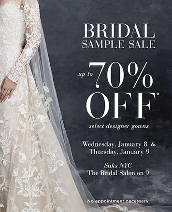 Saks Fifth Avenue Designer Bridalwear