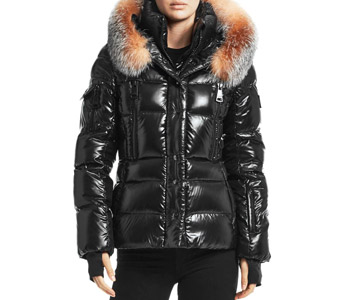 Sam. Decade Fox Fur-Trim Down Puffer $725