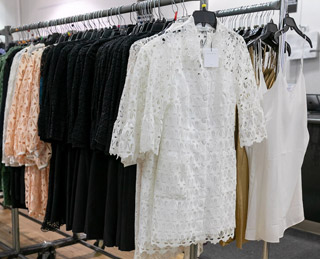 Sandro Sample Sale in Images