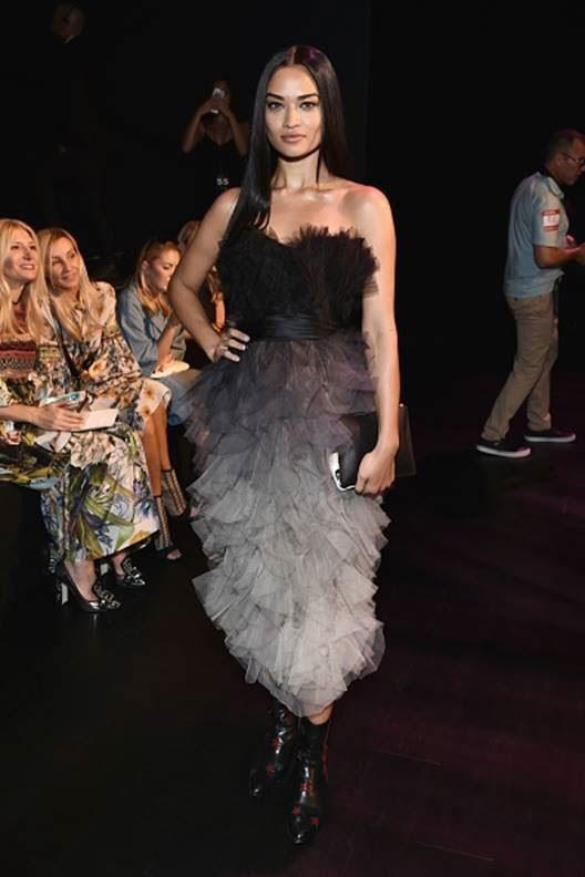 Shanina Shaik wearing Modern Vice