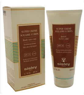Sisley 6.7oz Body Sun Care SPF 15 UVA
