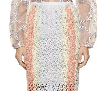 Gabriela Hearst Monique Pastel Skirt