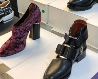 Pics from Inside The Shoe Box Spring 2018 Sample Sale