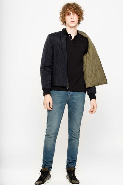 Zadig and Voltaire Bilbao Reversible Jacket