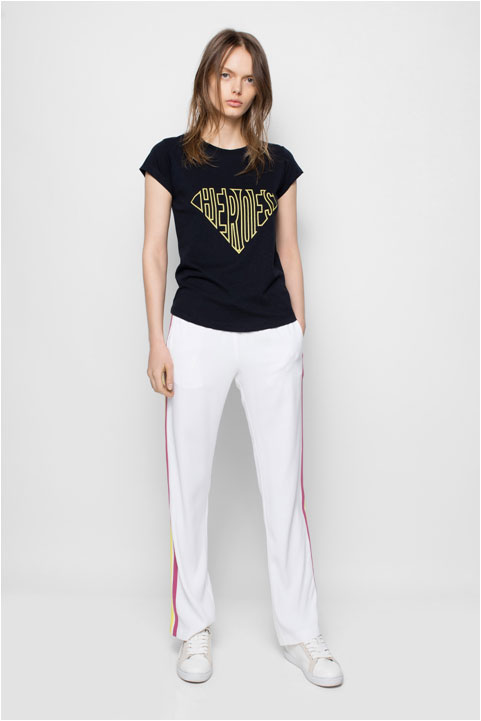 Zadig and Voltaire Skinny Bis T-shirt