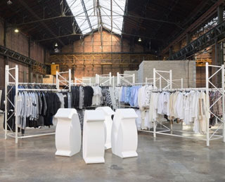 Comme des Garçons Commissions Art Installation for Sales Shopping Event