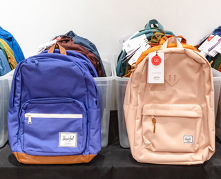 Herschel Supply Co. Sample Sale In Images