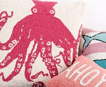 Dreaming of Summer: Beach-Inspired Throw Pillows Online Sample Sale @ Ruelala.com