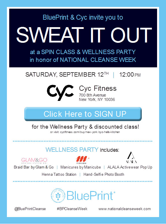 BluePrint + CYC Wellness Event