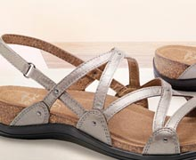 Walk in Comfort: Cushioned Sandals for Spring Online Sample Sale @ Ruelala.com