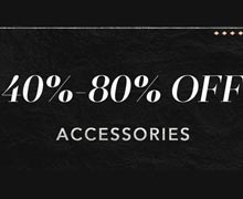 The Cyber Monday Sale: Accessories Online Sample Sale @ Ruelala.com