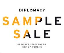 Diplomacy Sample Sale
