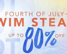 Hot, Hot, Hot: Fourth of July Swim Steals Online Sample Sale @ Ruelala.com