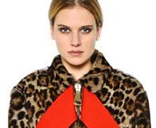 Givenchy Leopard Printed Marmot Fur Jacket @ LuisaViaRoma