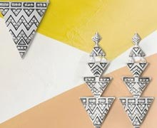 Geometric Jewelry Featuring House of Harlow 1960 Online Sample Sale @ Ruelala.com