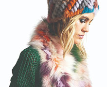 Jocelyn Fur Sample Sale
