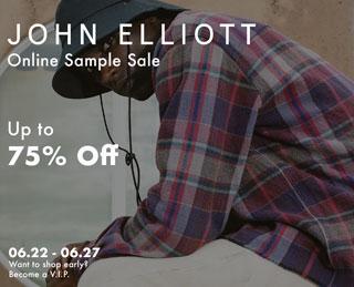 John Elliott Online Sample Sale