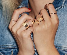 Get Stacking: Layer-Ready Rings Online Sample Sale @ Gilt
