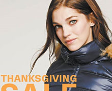 Lord & Taylor Thanksgiving Sale