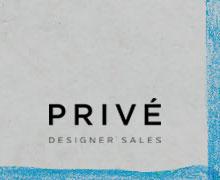 Prive Spring Sample Sale