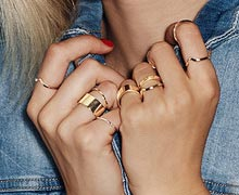 Mix & Match 101: Stacking Rings Online Sample Sale @ Gilt
