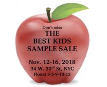 The Best Kids Sample Sale
