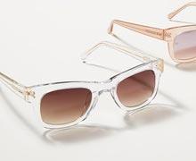 Crystal Clear: Translucent Eyewear Online Sample Sale @ Gilt