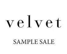 Velvet Sample Sale