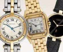 Vintage Cartier Watches Online Sample Sale @ Gilt