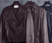 World Source Leather Jacket Sample Sale