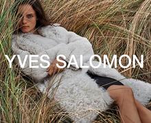 Yves Salomon Sample Sale