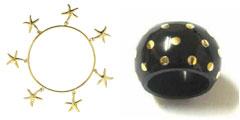 Andrea Barna - Starfish Bangle and Dotted Ring