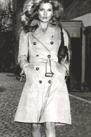 A Burberry Trench Coat
