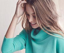 Layer Lightly: Cashmere Sweaters for Spring Online Sample Sale @ Ruelala.com