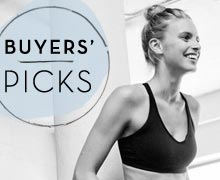 The Get-Fit Spree: Buyers'' Picks Edition Online Sample Sale @ Ruelala.com