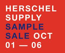 Herschel Supply Co. Sample Sale