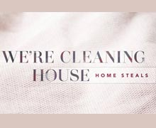 We''re Cleaning House: Home Steals Online Sample Sale @ Ruelala.com