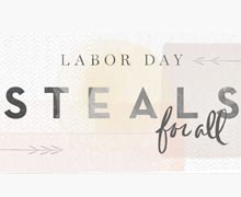 Labor Day Steals for All Online Sample Sale @ Ruelala.com