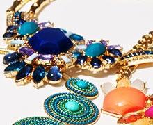 Pop-of-Color Jewelry Feat. Leslie Danzis Online Sample Sale @ Gilt