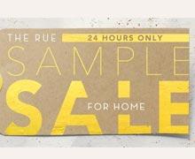 The Rue Sample Sale for Home Online Sample Sale @ Ruelala.com